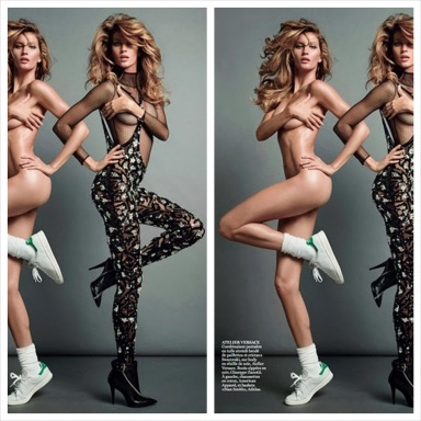 Gisele Bundchen by Inez & Vinoodh for Vogue Paris November 2013