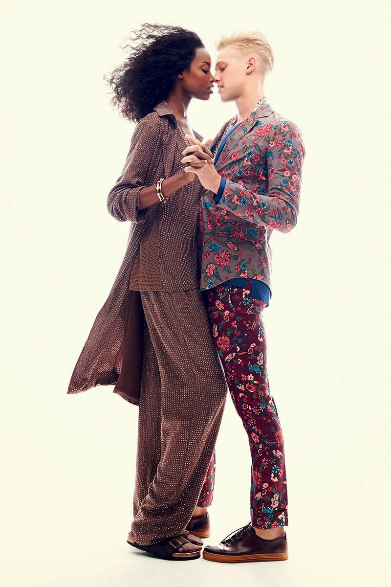 Harper's Bazaar November 2013 : Romeo & Juliet