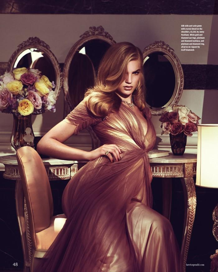 Isabel Scholten by Grant Thomas for How To Spend It Magazine October 2013