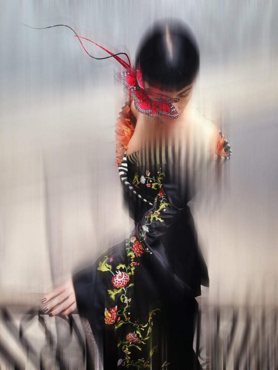 """Isabella Blow"" by Nick Knight for V #86 Fall 2013"