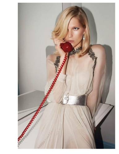Iselin Steiro by Glen Luchford for Vogue Paris November 2013