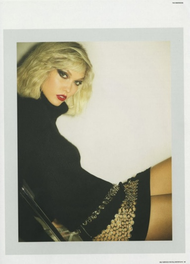 Karlie Kloss by Ezra Petronio for Self Service # 39 Fall 2013