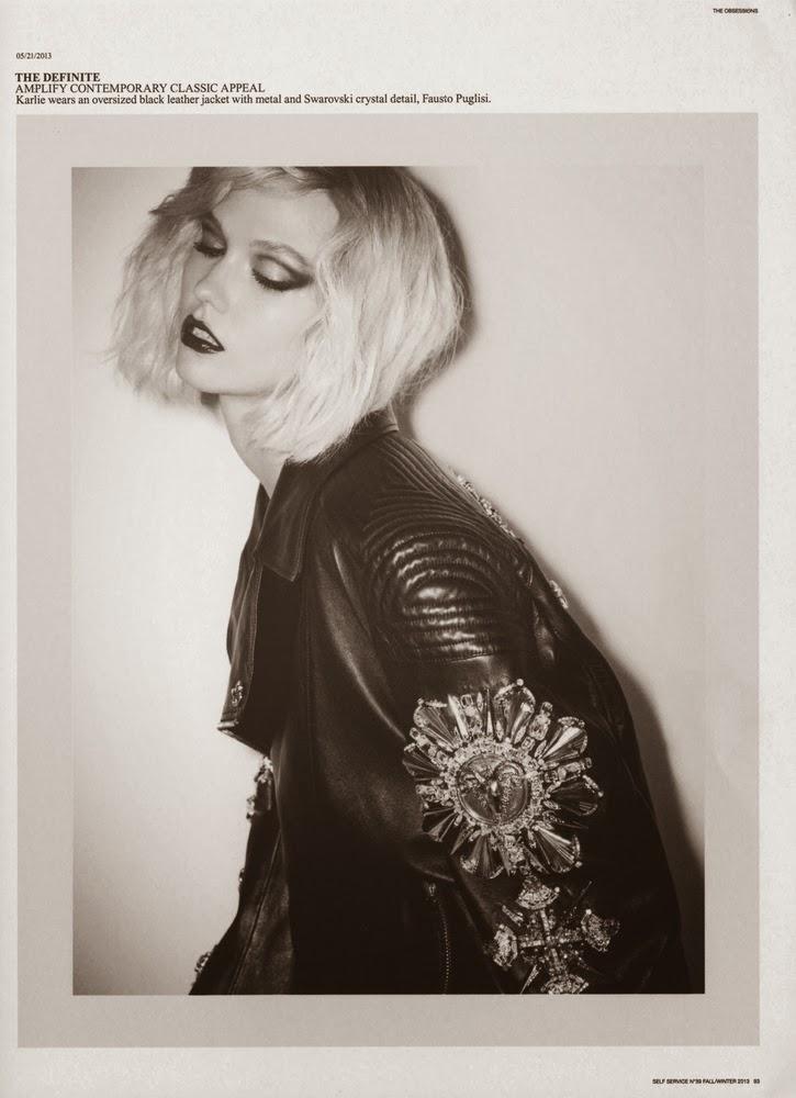 Karlie Kloss by Ezra Petronio for Self Service # 39 Fall 2013