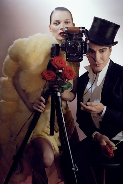 Kate Moss and John Galliano by Tim Walker for Vogue UK December 2013