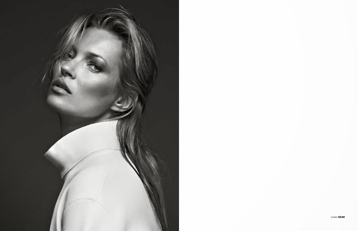 Kate moss by Bryan Adams for ZOO Magazine Fall 2013