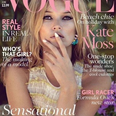 Kate Moss joins the British Vogue as a fashion contributor editor