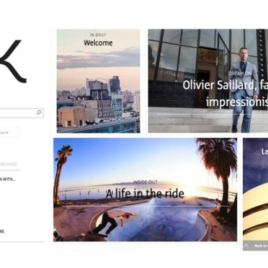 Kering, the luxury giant, enters in digital publishing