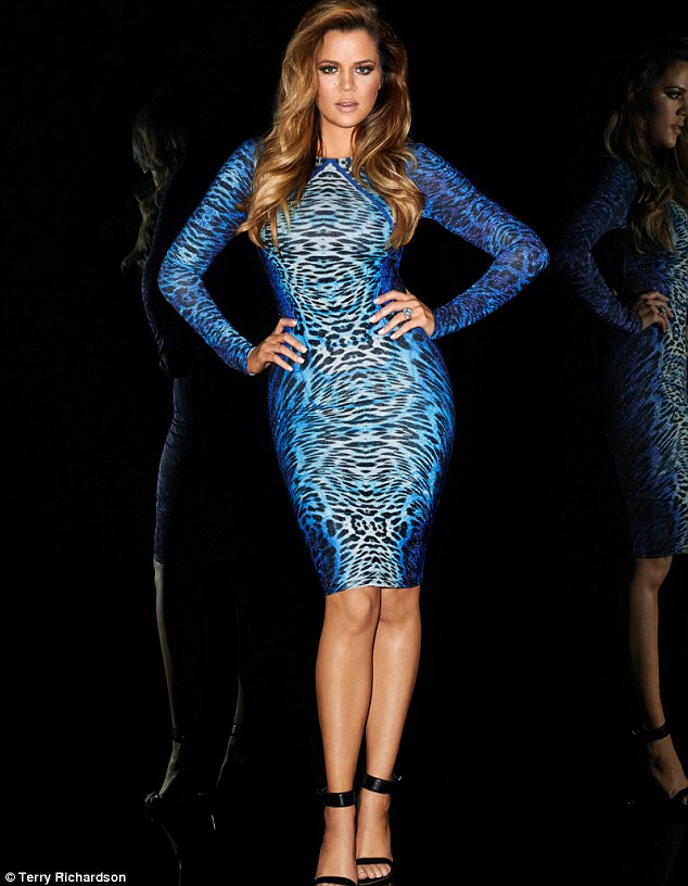 Khloe by Terry Richardson for Kardashian Kollection for Lipsy