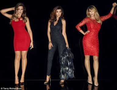 Khloe, Kourtney and Kim by Terry Richardson for Kardashian Kollection for Lipsy