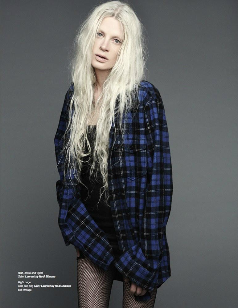 Kristen McMenamy By Dancian For ZOO Magazine Fall 2013