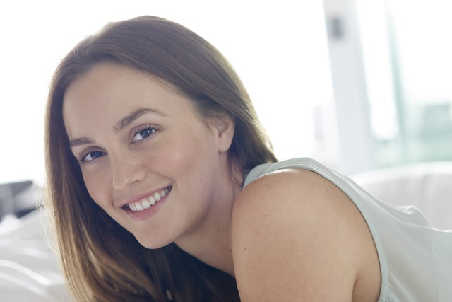 Leighton Meester is the new face of Biotherm