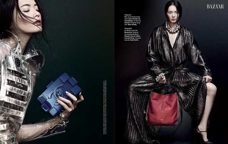 Li Wei by An Le for Harper's Bazaar Vietnam October 2013