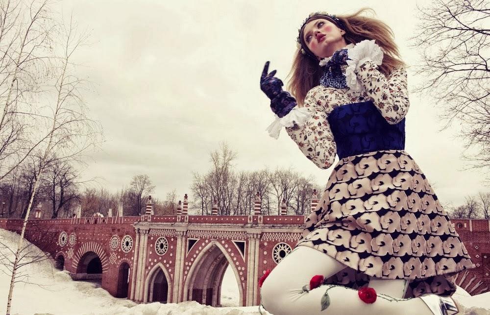 Lindsey Wixson by Emma Summerton for Vogue Japan December 2013