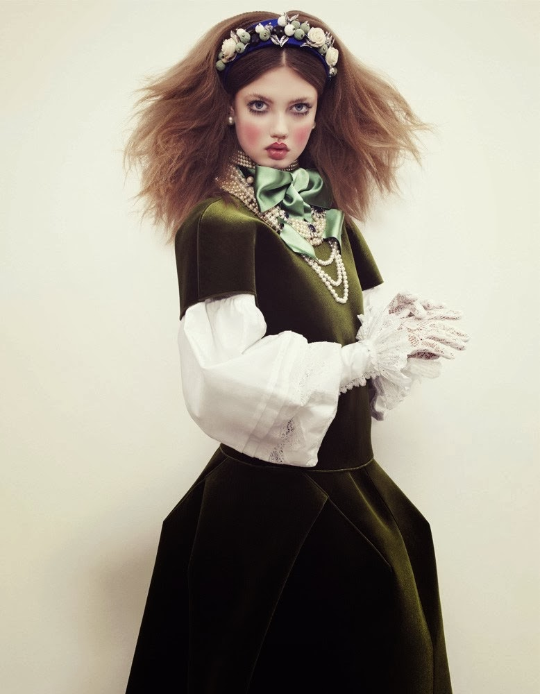 Lindsey Wixson by Emma Summerton for Vogue Japan December 2013