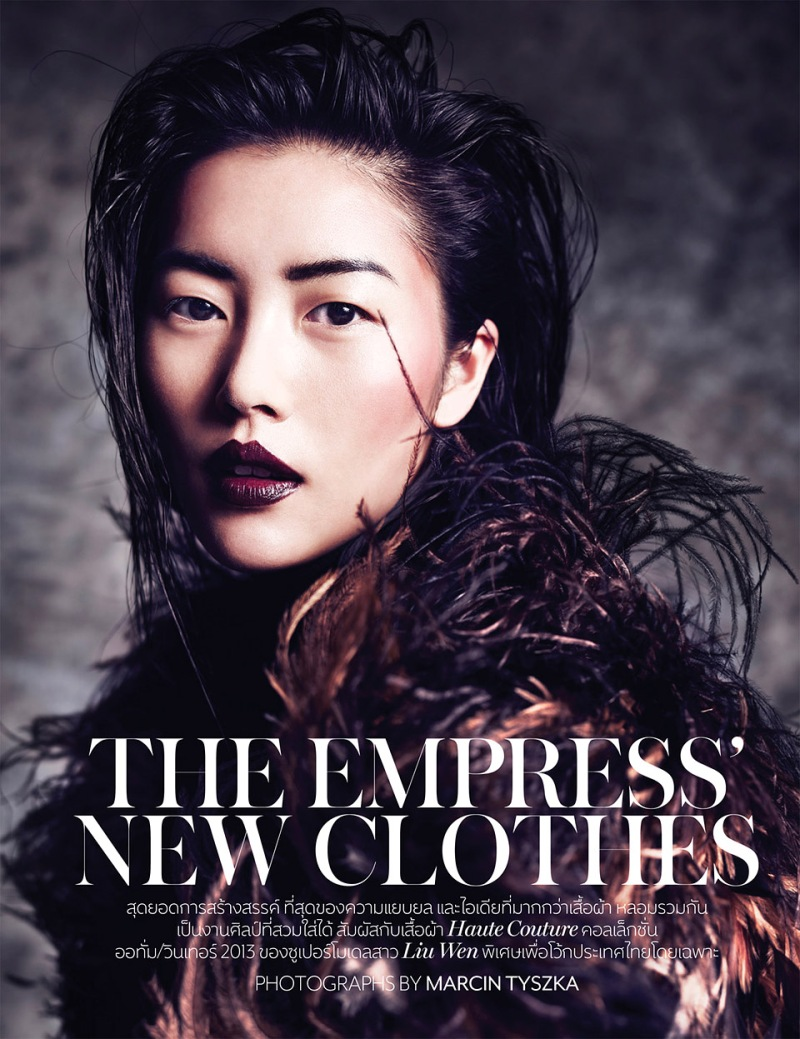 Liu Wen by Marcin Tyszka for Vogue Thailand October 2013 Liu Wen by Marcin Tyszka for Vogue Thailand October 2013