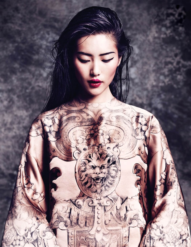 Liu Wen by Marcin Tyszka for Vogue Thailand October 2013