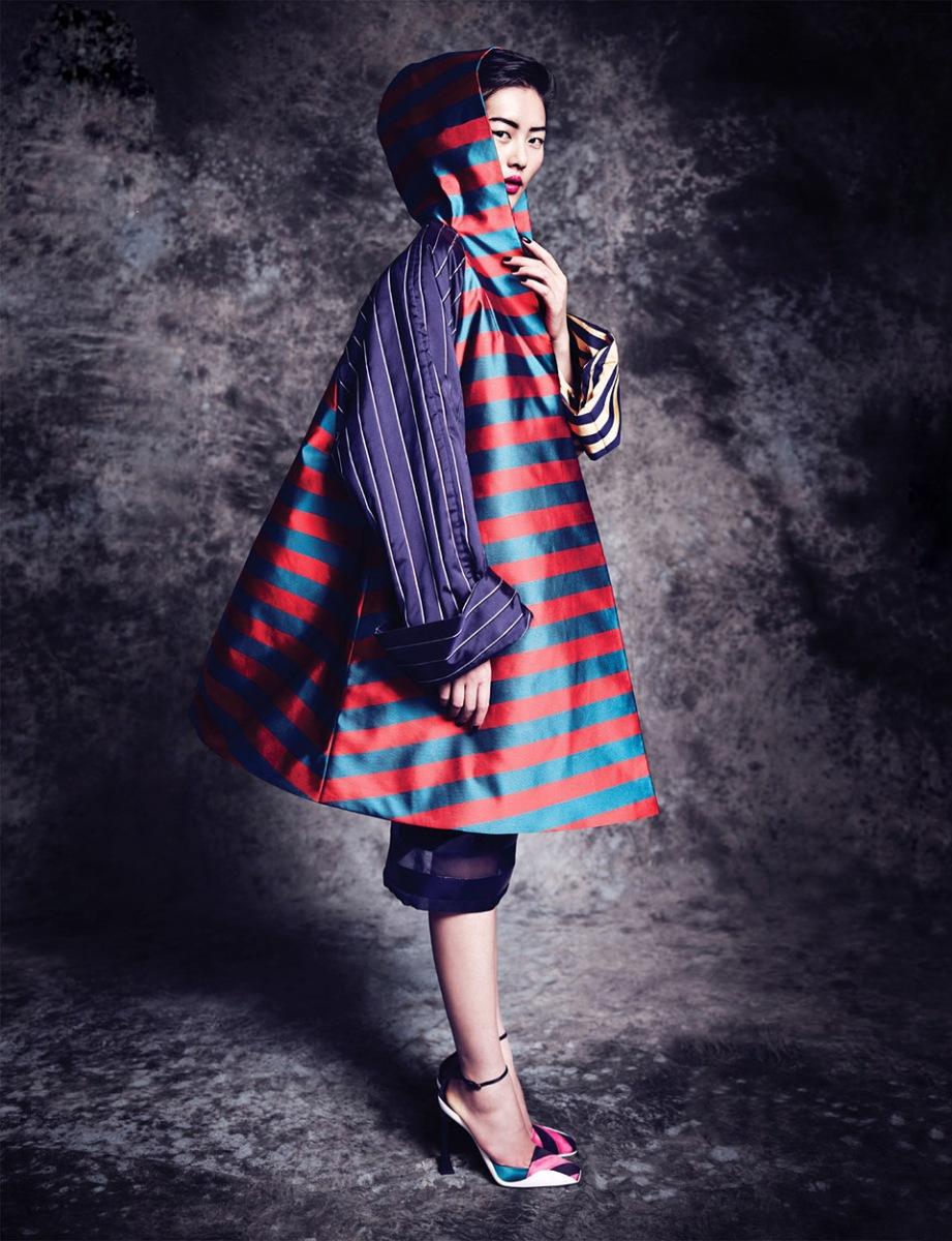 Liu Wen by Marcin Tyszka for Vogue Thailand October 2013