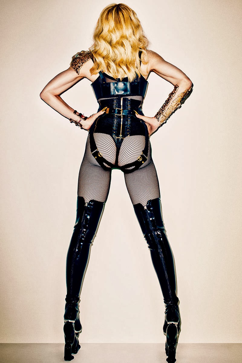 Madonna by Terry Richardson for HARPER'S BAZAAR November 2013
