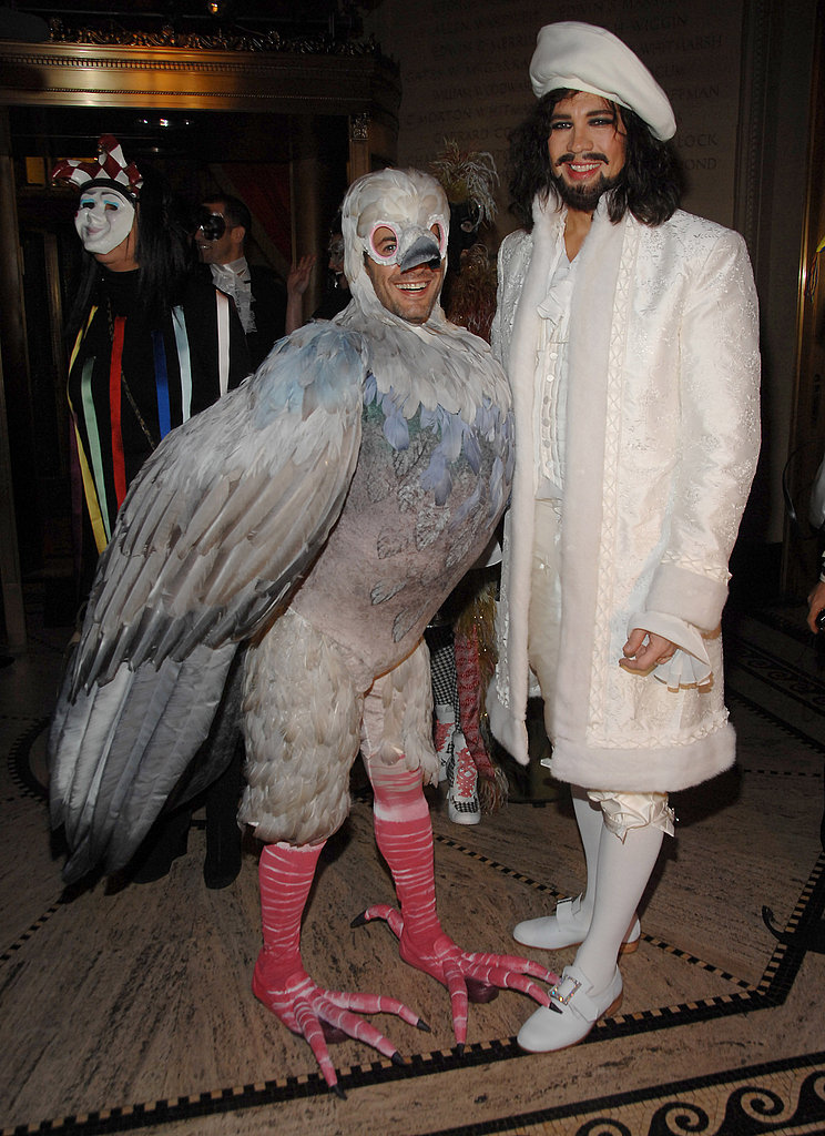 Marc Jacobs, Robert Duffy At Marc Jacobs's Christmas costume party in New York in 2006.
