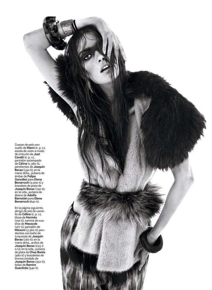 Maria Palm by Alvaro Beamud Cortes for S Moda for El Pais October 2013