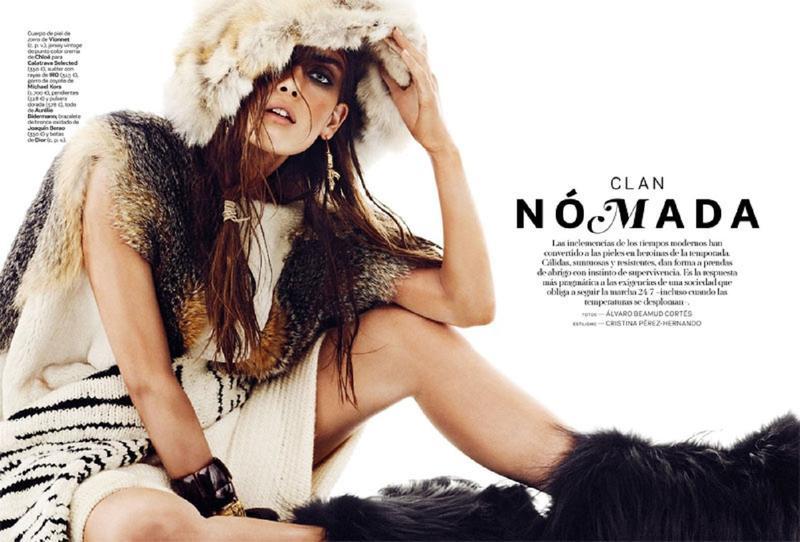 Maria Palm by Alvaro Beamud Cortes for S Moda for El Pais October 2013