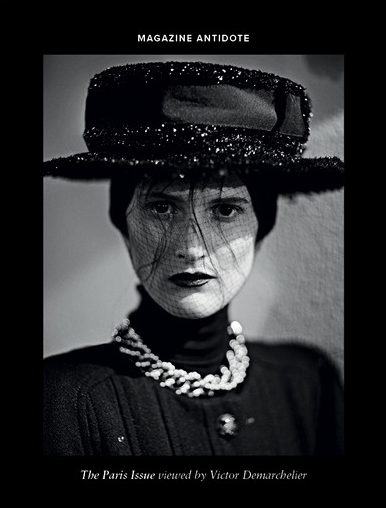 Marie Piovesan by Victor Demarchelier for Antidote Magzine Fall 2013 ,The Paris Issue