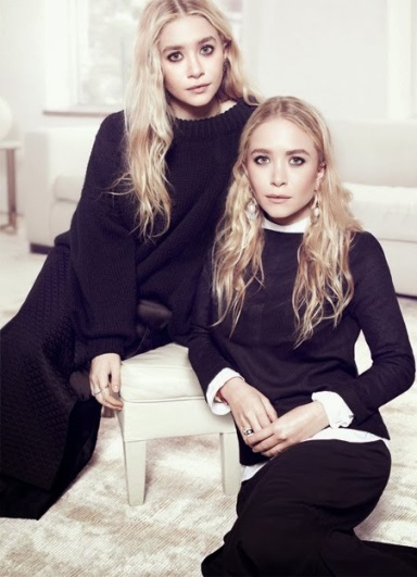 Mary-Kate & Ashley Olsen by Miguel Riveriego for The Edit October 17, 2013