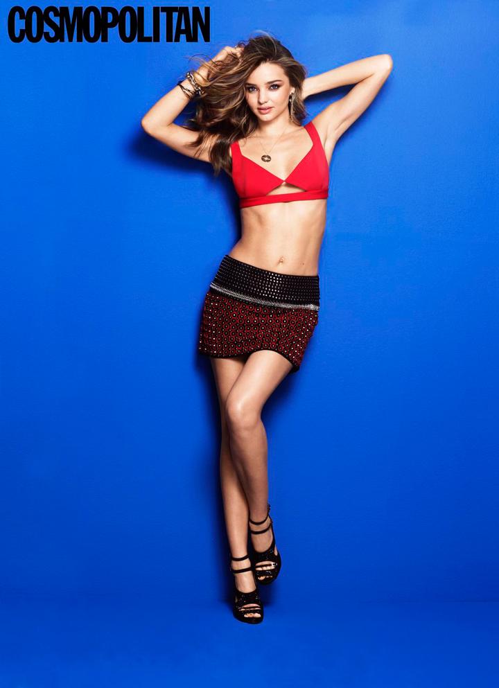 Miranda Kerr for Cosmopolitan November 2013