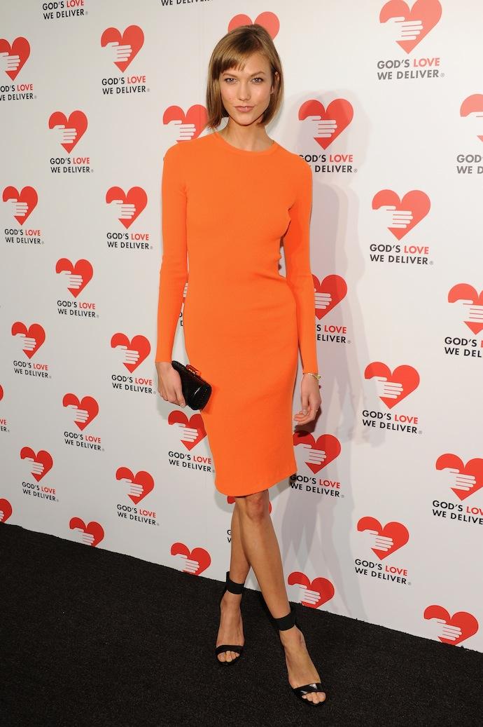 Model Karlie Kloss attends God's Love We Deliver 2013 Golden Heart Awards Celebration