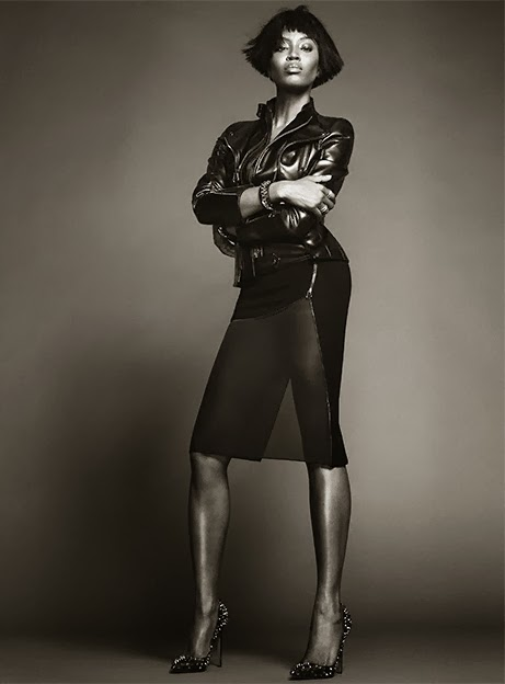 Naomi Campbell by Nico for THE EDIT October 3, 2013
