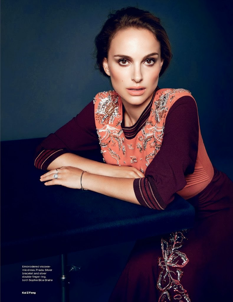 Natalie Portman for ELLE UK November 2013