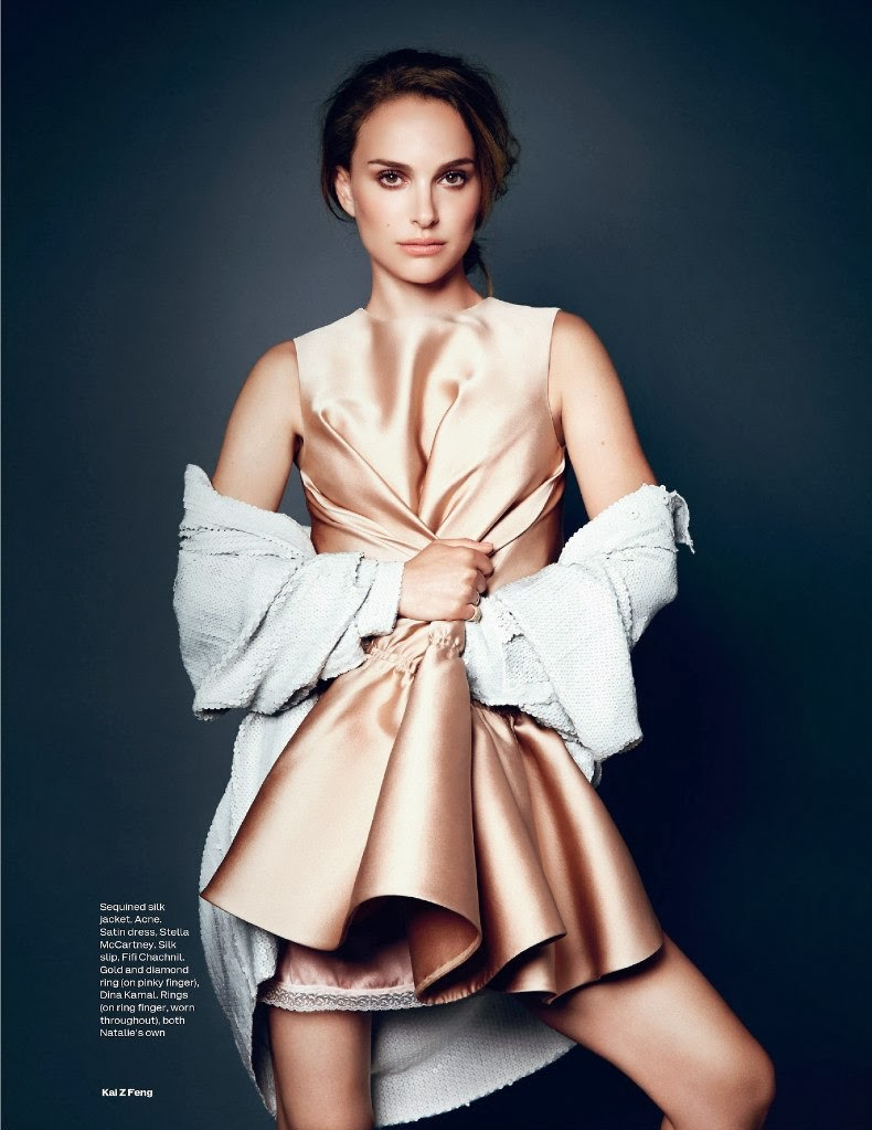 Natalie Portman for ELLE UK November 2013