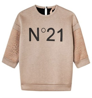 N°21 sweatshirt for Selfridges