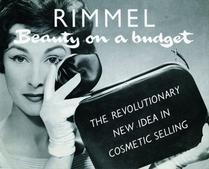 One of the first advertising of Rimmel