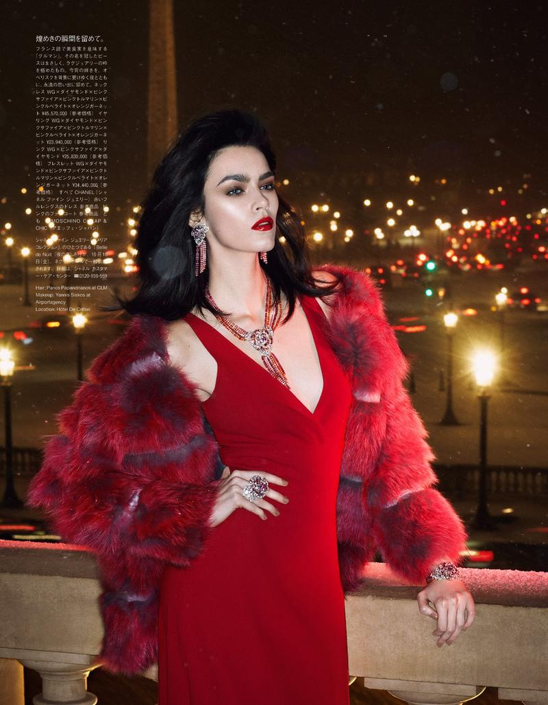 Patrycja Gardygajlo by Rene Habermacher for Vogue Japan Jewelry Supplement November 2013