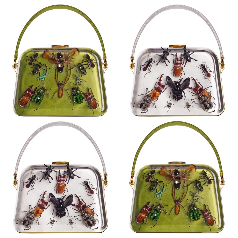 Prada x Damien Hirst Entomology bags