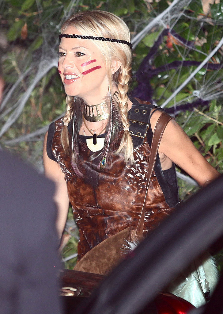 Rachel Zoe At Kate Hudson's Halloween party in the Pacific Palisades in 2010.