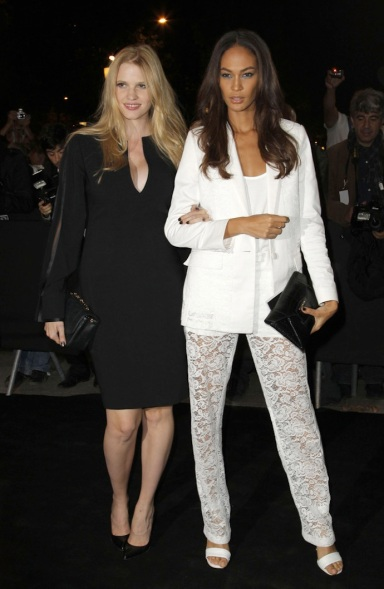 IJoan Smalls and Lara Stone