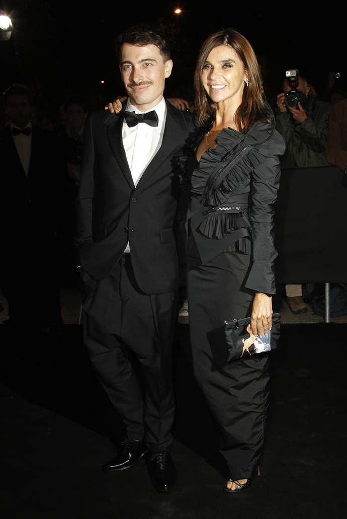 Fabien Constant and Carine Roitfeld
