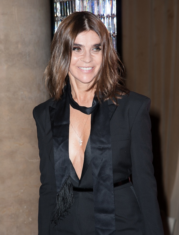 Carine Roitfeld attends the 30th Annual Night Of Stars presented by The Fashion Group International at Cipriani Wall Street