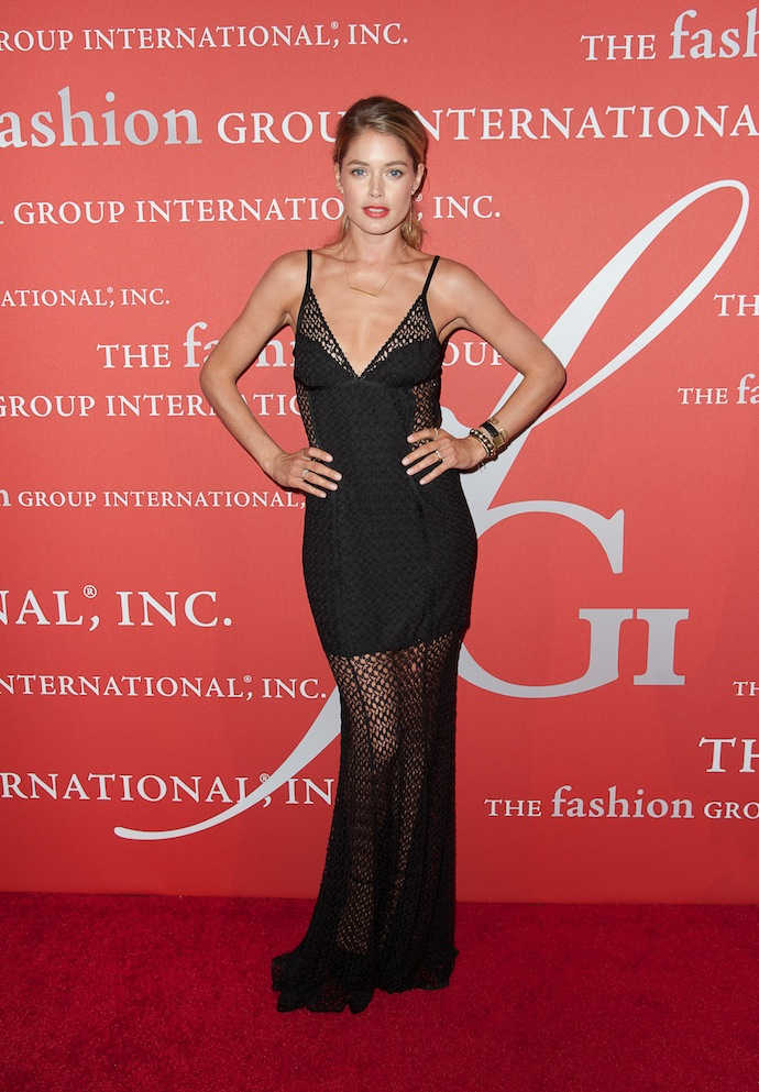 Model Doutzen Kroes attends the 30th Annual Night Of Stars presented by The Fashion Group International at Cipriani Wall Street