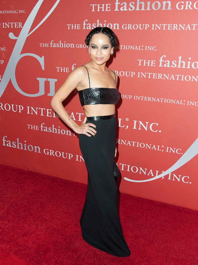 Actress Zoë Kravitz attends the 30th Annual Night Of Stars presented by The Fashion Group International