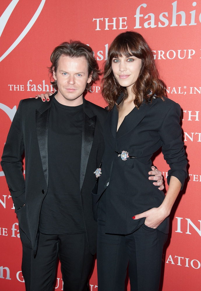 Christopher Kane and Model Alexa Chung attends the 30th Annual Night Of Stars presented by The Fashion Group International at Cipriani Wall Street