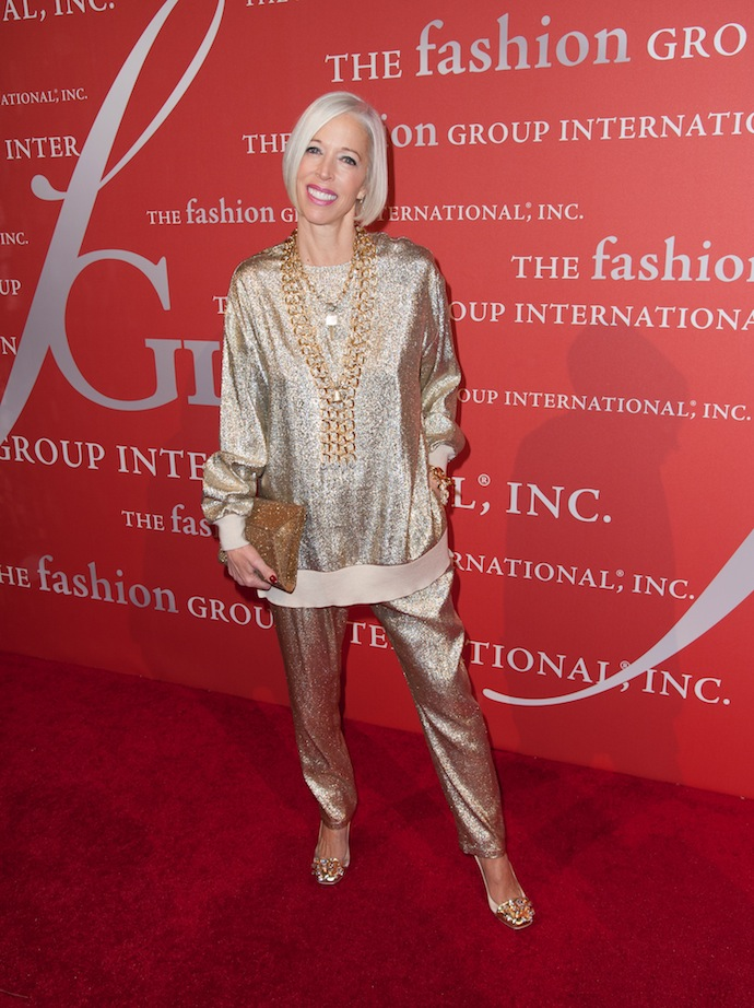 Linda Fargo attends the 30th Annual Night Of Stars presented by The Fashion Group International at Cipriani Wall Street