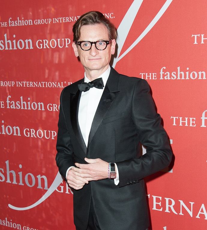 Hamish Bowles attends the 30th Annual Night Of Stars presented by The Fashion Group International at Cipriani Wall Street