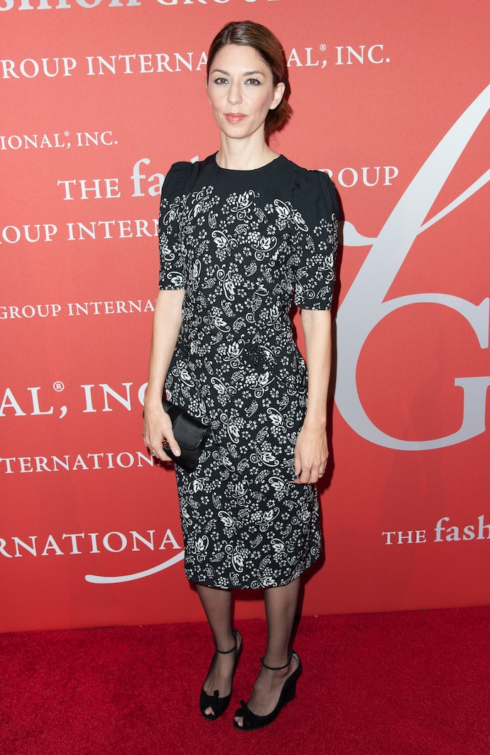 Director Sofia Coppola attend the 30th Annual Night Of Stars presented by The Fashion Group International at Cipriani Wall Street