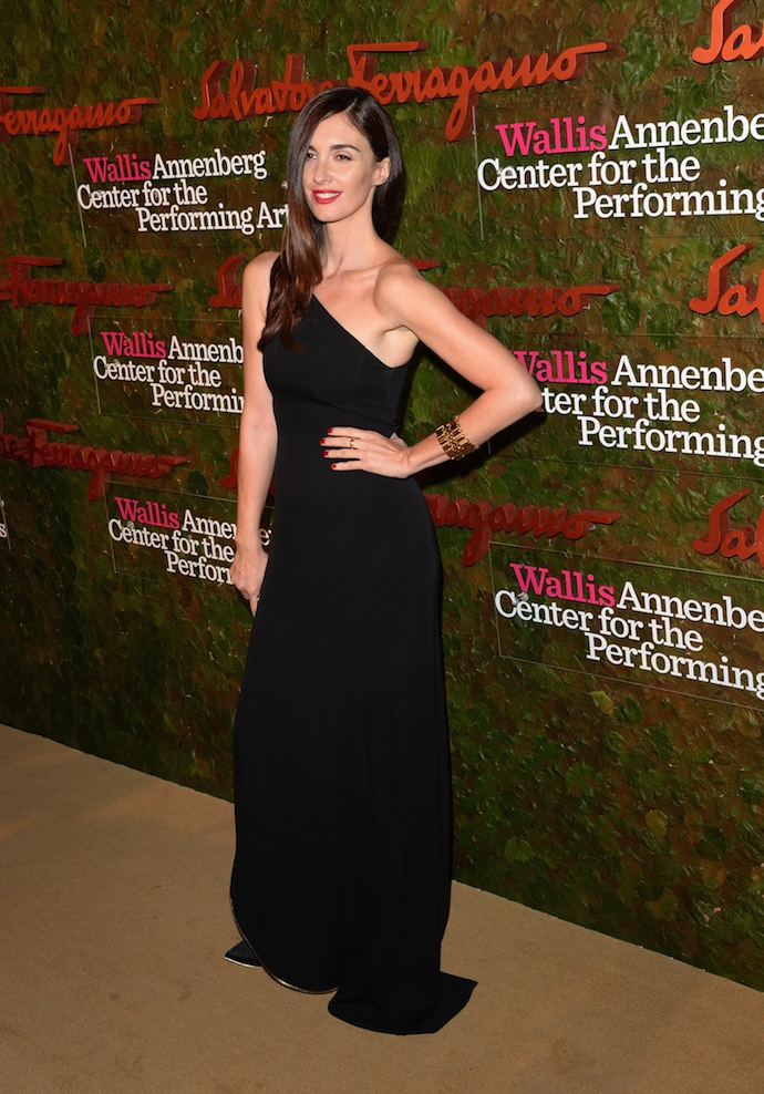 Actress Paz Vega arrives at the Wallis Annenberg Center for the Performing Arts Inaugural Gala