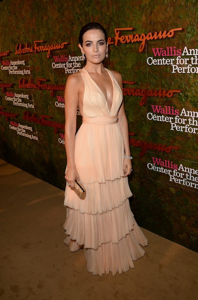Actress Camilla Belle arrives at the Wallis Annenberg Center for the Performing Arts Inaugural Gala