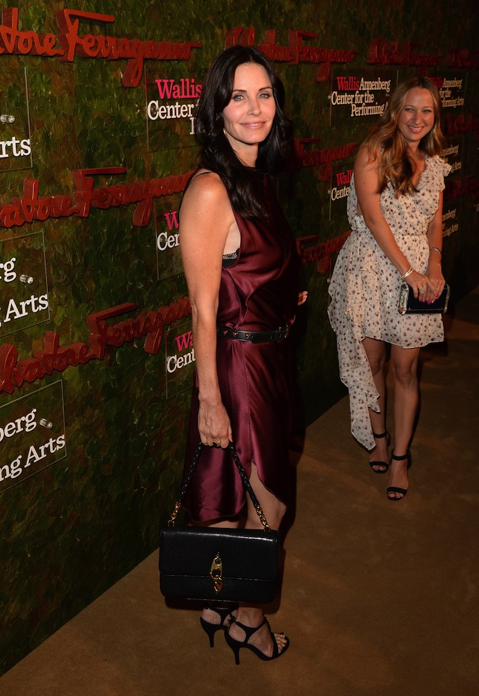 Actress Courteney Cox arrives at the Wallis Annenberg Center for the Performing Arts Inaugural Gala