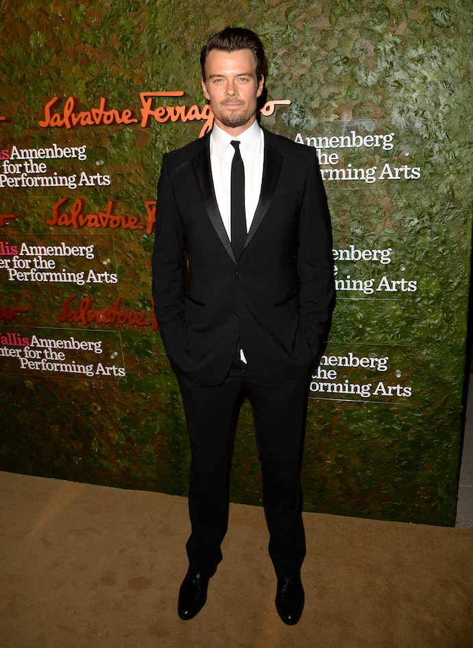 Actor Josh Duhamel arrives at the Wallis Annenberg Center for the Performing Arts Inaugural Gala presented by Salvatore Ferragamo